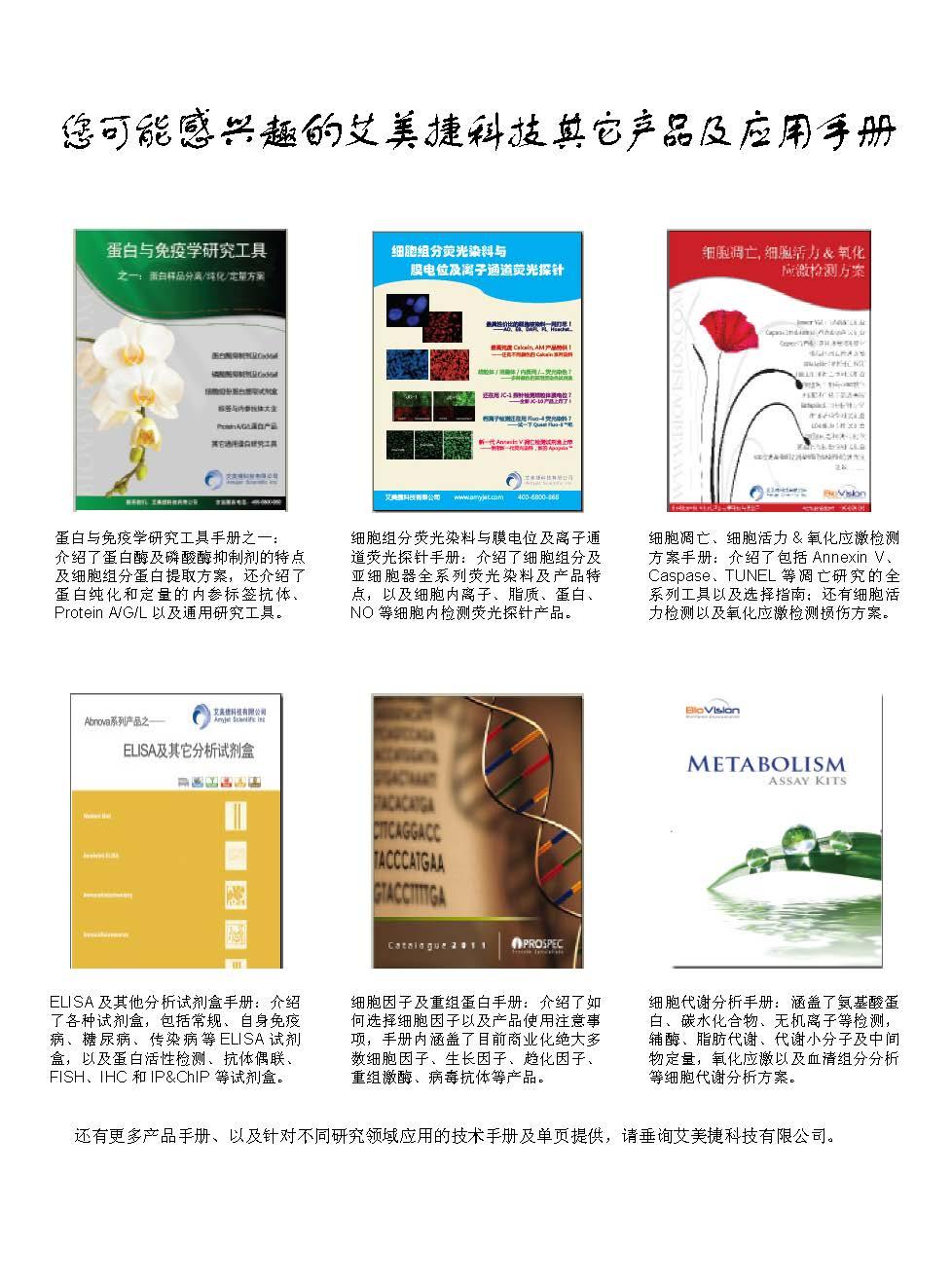 二抗产品应用手册